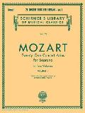 21 Concert Arias for Soprano - Volume I: Voice and Piano