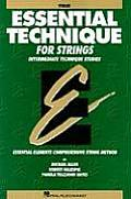 Essential Technique For Strings Violin Intermediate Technique Studies