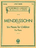 6 Pieces for Children, Op. 72: Piano Solo