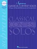 Classical Contest Solos Soprano With Companion CDs