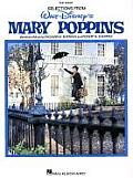 Walt Disneys Mary Poppins Easy Piano