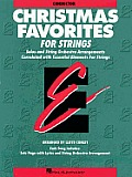 Essential Elements Christmas Favorites for Strings: Conductor