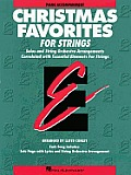 Essential Elements Christmas Favorites for Strings: Piano Accompaniment