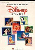 Illustrated Treasury Of Disney Songs Updated