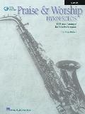 Praise & Worship Hymn Solos: Alto Sax Play-Along Pack [With CD (Audio)]