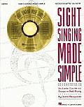 Sight Singing Made Simple: An Audio Course for Group or Self Study with CD (Audio)
