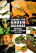 Green Iguanas the Real Thing (Guide to Owning A...) Cover