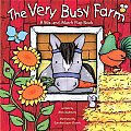 The Very Busy Farm: A Mix-And-Match Flap Book