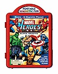 Marvel Heroes Super Origins Book & Magne