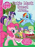 Cutie Mark Quest: A Panorama Sticker Storybook [With Sticker(s)]