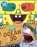 Spongebob Squarepants Mega 3 D Ocean Fact Book & 3 D Pictures