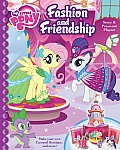 Fashion and Friendship Story and Press-Out Playset