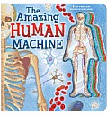 Amazing Human Machine Book with Acetate Body System Cards