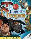 DreamWorks How to Train Your Dragon 2 Draw It Dragons