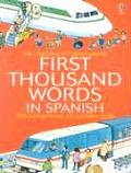 Mini First Thousand Words Spanish Internet Linked