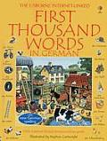 First Thousand Words In German Internet