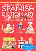 Internet Linked Spanish Dictionary For Beginners