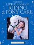 Usborne Little Book Of Riding & Pony Car