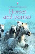 Horses & Ponies Usborne Beginners Intern