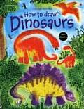 How To Draw Dinosaurs With Stickers