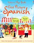 First Picture Spanish (First Picture Flap Books)