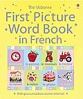 Usborne First Picture Word Book in French