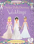 Sticker Dolly Dressing Weddings (Usborne Activities) Cover