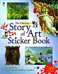 Story of Art Sticker Book (Art)