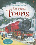 See Inside Trains (Usborne Flap Book)