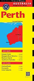 Perth Travel Map 2nd Edition