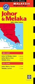 Johor & Melaka Travel Map 1st Edition