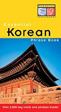 Essential Korean Phrase Book