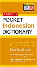 Pocket Indonesian Dictionary (Periplus Pocket Dictionary) Cover