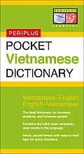 Pocket Vietnamese Dictionary (Periplus Pocket Dictionary) Cover