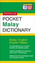 Pocket Malay Dictionary (Periplus Pocket Dictionary)