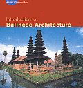Introduction to Balinese Architecture (Periplus Asian Architecture) Cover