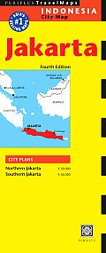 Jakarta, Indonesia City Map (Periplus Travel Maps)
