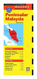 Peninsular Malaysia Regional Map (Periplus Travel Maps)