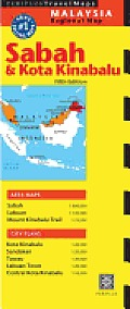 Sabah & Kota Kinabalu Travel Map Fifth Edition Cover