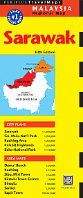 Sarawak Travel Map Fifth Edition