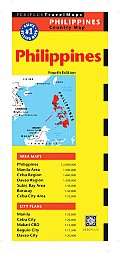 Philippines Country Map (Periplus Travel Maps)