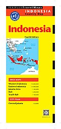 Indonesia Country Map (Periplus Travel Maps)
