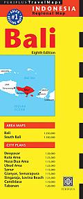 Bali Travel Map (Periplus Travel Maps)