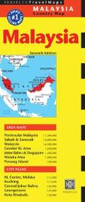 Malaysia Travel Map (Periplus Travel Maps)