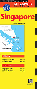 Periplus Singapore Travel Map