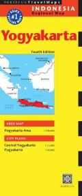 Yogyakarta Travel Map Fourth Edition