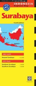 Surabaya Travel Map (Periplus Travel Maps)