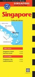 Singapore Travel Map: Singapore Island & City Map (Periplus Travel Maps: Singapore Island & City Map)