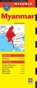 Myanmar Country Map (Periplus Travel Maps)