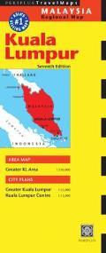 Kuala Lumpur Travel Map Seventh Edition